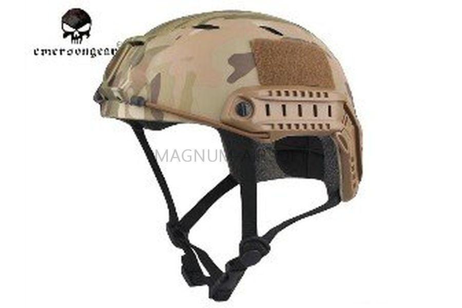 ШЛЕМ ПЛАСТИКОВЫЙ EMERSON FAST Helmet BJ TYPE Light version c рельсами FMA AS-HM0119CP