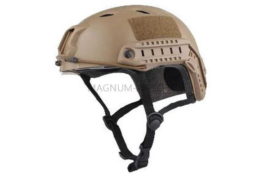 ШЛЕМ ПЛАСТИКОВЫЙ EMERSON FAST Helmet BJ TYPE Light version c рельсами FMA AS-HM0119DE