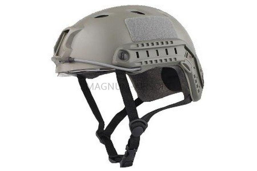 ШЛЕМ ПЛАСТИКОВЫЙ EMERSON FAST Helmet BJ TYPE Light version c рельсами FMA AS-HM0119FG