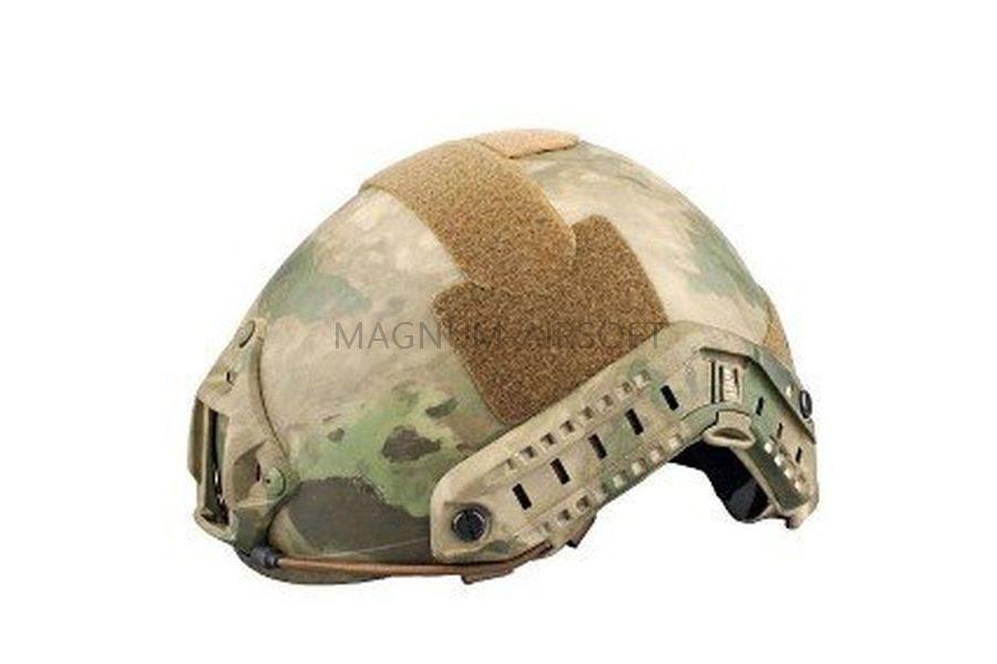ШЛЕМ ПЛАСТИКОВЫЙ EMERSON FAST Helmet MH TYPE Light version c рельсами FMA AS-HM0120AF