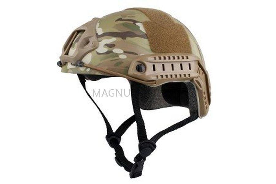 ШЛЕМ ПЛАСТИКОВЫЙ EMERSON FAST Helmet MH TYPE Light version c рельсами FMA AS-HM0120CP