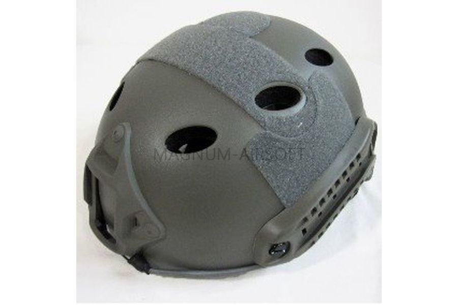 ШЛЕМ ПЛАСТИКОВЫЙ EMERSON FAST Helmet PJ TYPE Light version c рельсами FMA AS-HM0118FG