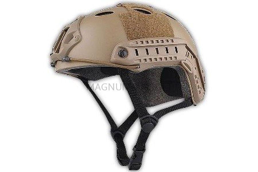 ШЛЕМ ПЛАСТИКОВЫЙ EMERSON FAST Helmet PJ TYPE Light version c рельсами FMA AS-HM0118OD