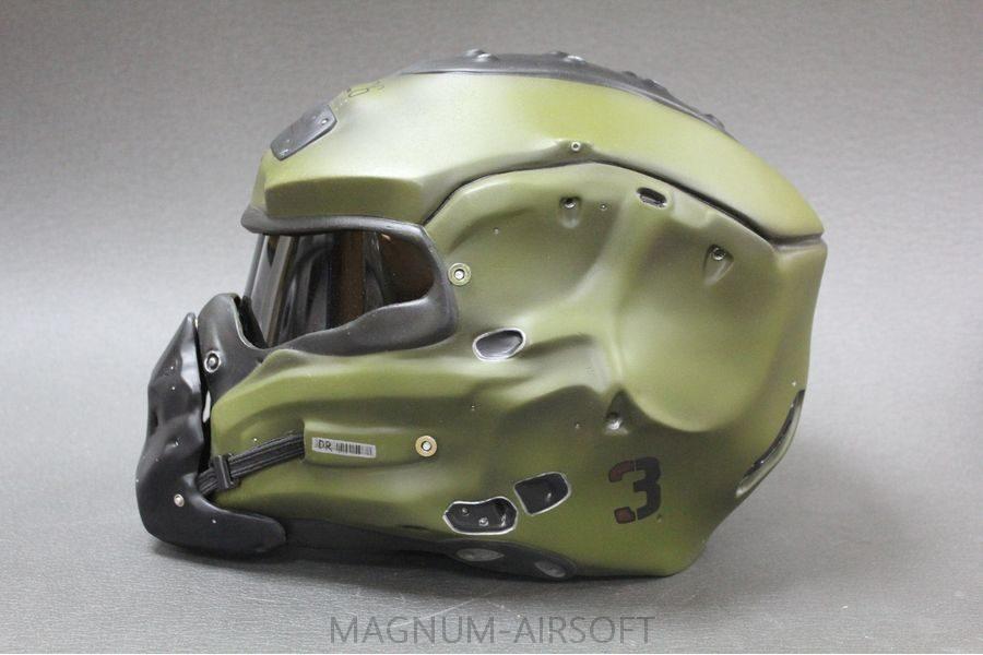 """Шлем """"Богомол"""" для страйкбола"""