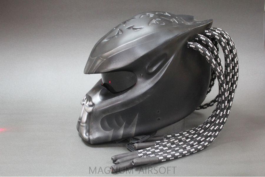 """Шлем """"Хищник"""" для страйкбола"""