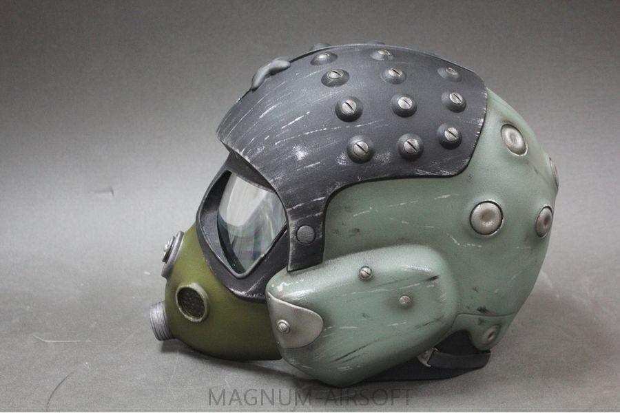 "Шлем+маска ""Артем-Спарта"" (Metro Exodus) для страйкбола"