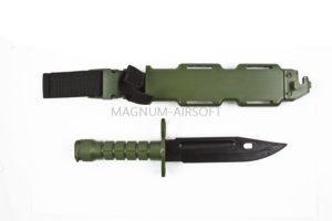 Штык-нож T&D пластиковый тренировочный OD (TD013 OD)
