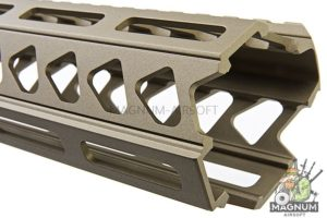 Strike Industries AR-15 Strike Rail for M4 GBBR Series- 17 inch / FDE