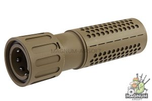 ARES M110K Silencer for ARES AR-SOC / SR-011 / 012 - Dark Earth