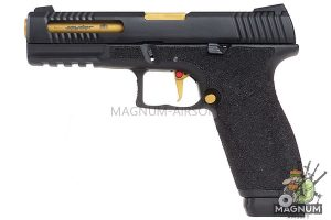 APS Spyder Race Connector D-Mod Gas Blow Back Pistol (Gas Version)