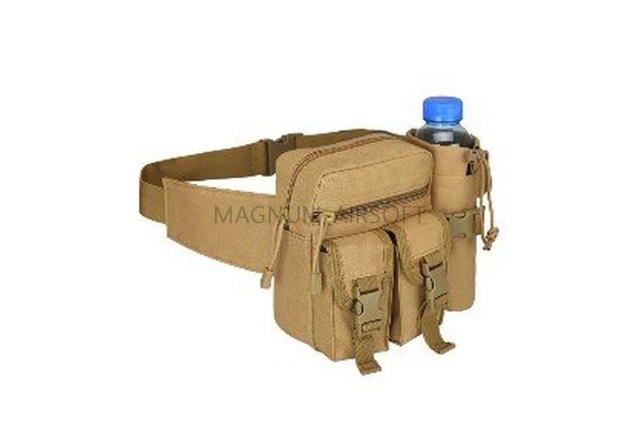 СУМКА НАПЛЕЧНАЯ / ПОЯСНАЯ Utility Tactical Military Camping Hiking Outdoor Sport AS-BS0041T