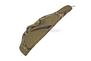 Чехол ЧО-37 для оружия с оптикой (полужесткий пластик, 127х27 см) цвет камыш, с карманом
