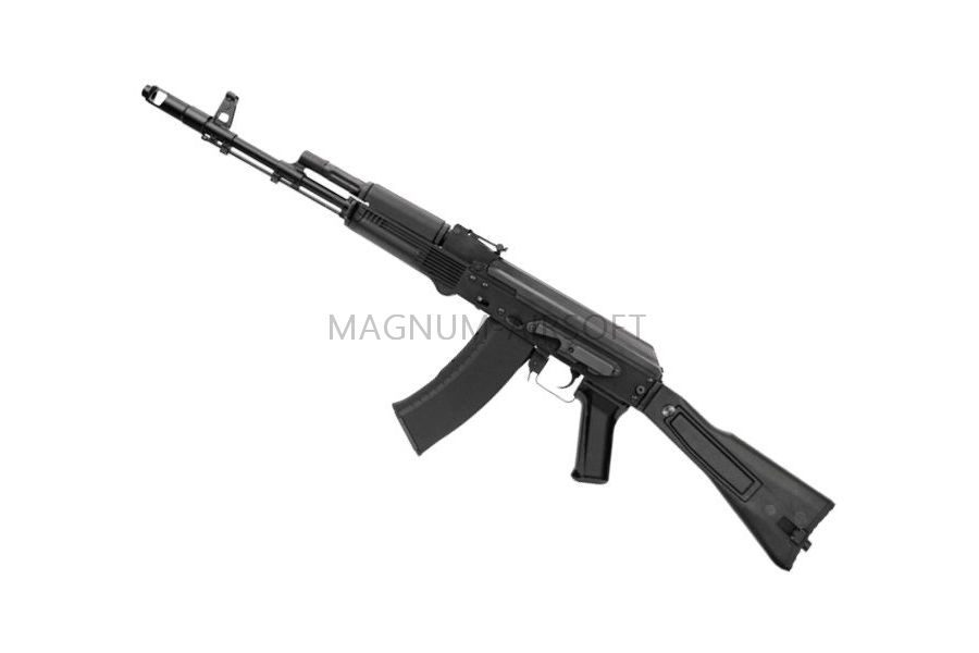 Автомат АК-74М  (GK74M)  TGK-74M-FOD-BNB-NCM (140-150M/S) BLACK (G&G)