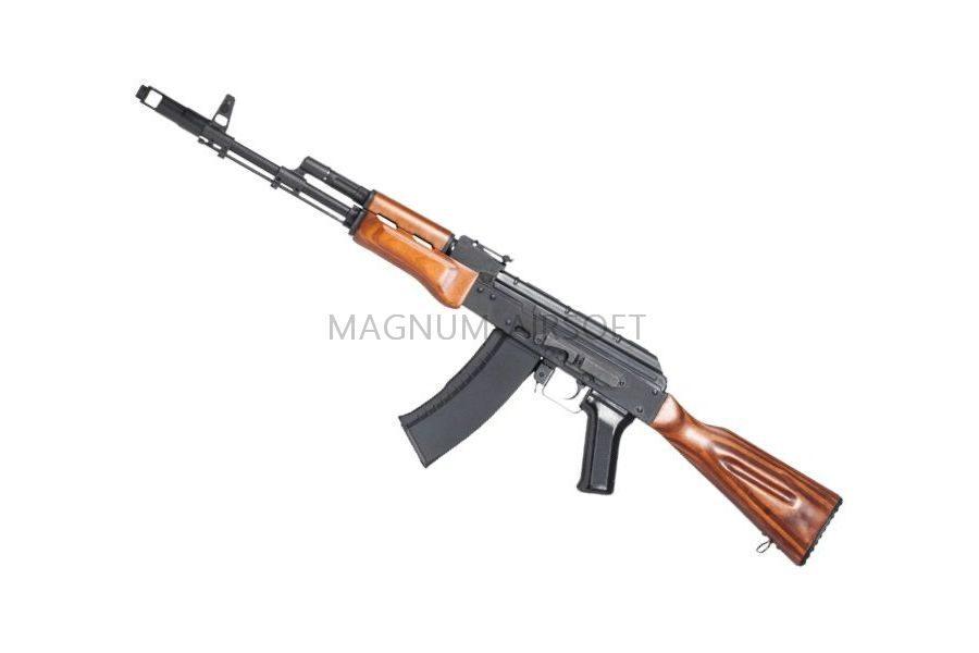 Автомат АК-74 (GK74N) TGK-74N-WST-BBB-NCM Blow Back 130 m/s BLACK (G&G)