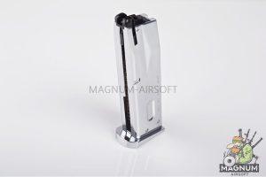 Tokyo Marui 26rds Magazine (Silver) for M92F