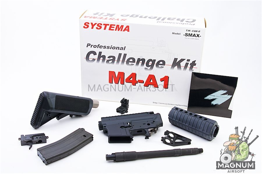 Systema PTW Challenge Kit CQBR SUPER MAX Evolution (M165 Cylinder)