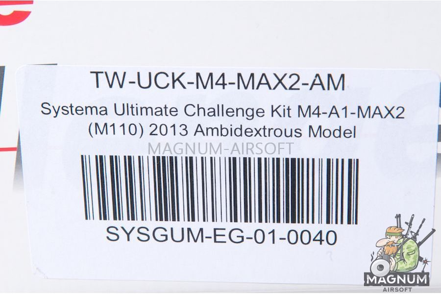 Systema Ultimate Challenge Kit M4-A1-MAX2 (M110) Ambidextrous Model