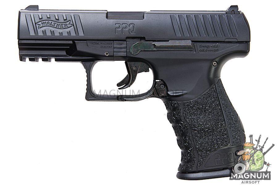 Umarex WALTHER PPQ Metal Slide 6mm Spring Cocking Pistol - Black