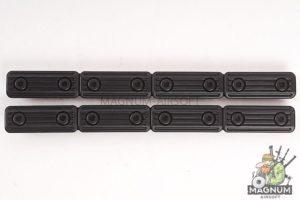 VFC QRS M-LOK Slot Cover (BK) 2 packs / set