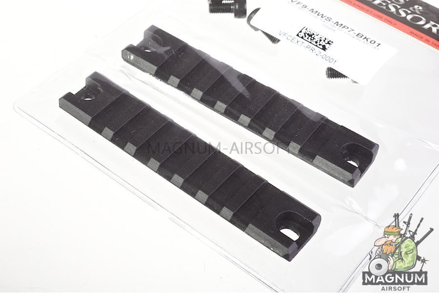 VFC MP7 Slide Rail Set for Umarex MP7A1 GBBR / AEG