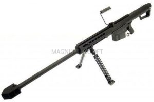 ВИНТОВКА BARRET M82A1 SNOW WOLF AEG, металл, пластик, без оптики, сошки SW-02A1