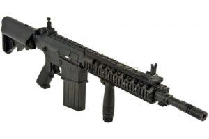 ВИНТОВКА SR-25K AEG, A&K, металл, RIS, ЗУ, АКБ  SR25K - 030