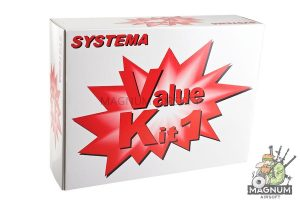 Systema PTW M4-A1 Value Kit 1 (Included Ambidextrouse Gear Box) - Upgrade Kit (M130 Cylinder)