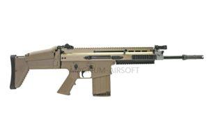 WE SCAR H GBB BK (standard stock)