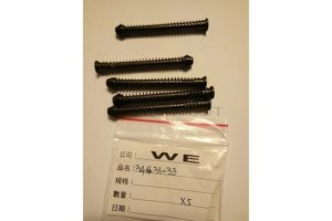 WE part # G-31~33 (assembled) recoil spring assembled