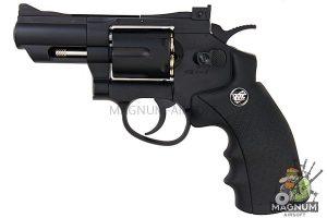Gun Heaven (WinGun) 708 2.5 inch 6mm Co2 Revolver - Black