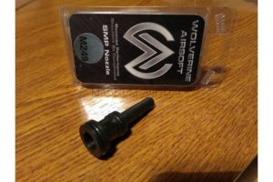 Wolverine Airsoft SMP nozzle for m249