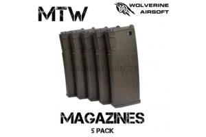Wolverine Aisoft MTW Magazines 5pcs