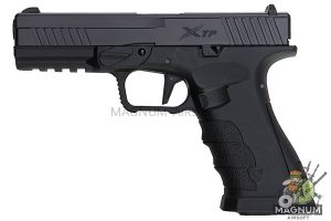 APS Xtreme Training GBB Pistol - Black (Co2 /Top Gas Version)