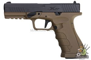 APS Xtreme Training GBB Pistol - Black Slide/ DE Frame (Co2 /Top Gas Version)