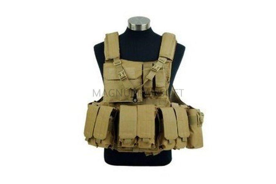 ЖИЛЕТ ТАКТИЧЕСКИЙ Military Force Recon Tactical  (600D) AS-VT0010ACU
