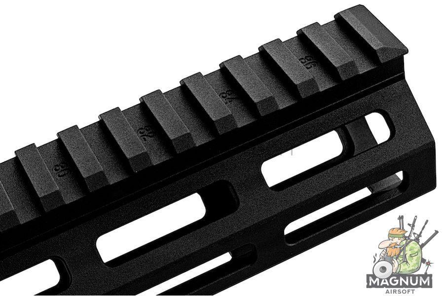Z-Parts MK16 M-Lok 9.3 inch Rail for GHK M4 GBBR Series (w/ Barrel Nut) - Black