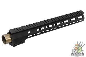 Z-Parts MK16 M-Lok 13.5 inch Rail for GHK M4 GBBR Series (w/ Barrel Nut) - Black