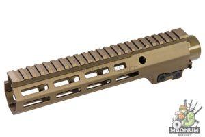 Z-Parts MK16 M-Lok 9.3 inch Rail for GHK M4 GBBR Series (w/ Barrel Nut) - DDC