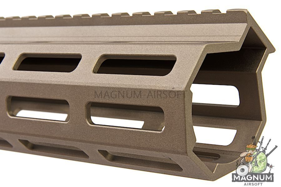 Z-Parts MK16 M-Lok 9.3 inch Rail for GHK M4 GBBR Series (w/ Barrel Nut) - DDC
