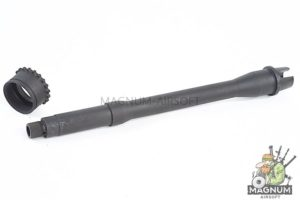 Z-Parts 10.5 inch Steel Outer Barrel Set for Tokyo Marui M4 MWS GBB