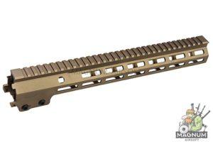Z-Parts MK16 M-Lok 13.5 inch Rail for Tokyo Marui M4 MWS GBBR Series (w/ Barrel Nut) - DDC