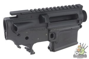 Z-Parts CNC 6061 Forged M4 Receiver Set for Systema M4 PTW