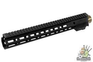 Z-Parts MK16 M-Lok 13.5 inch Rail for Systema PTW M4 Series (w/ Barrel Nut) - Black