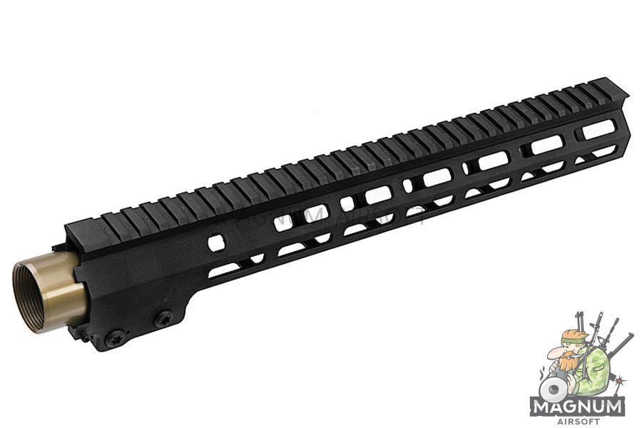 Z-Parts MK16 M-Lok 13.5 inch Rail for Systema PTW M4 Series (w/ Barrel Nut) - Black