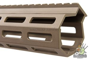 Z-Parts MK16 M-Lok 9.3 inch Rail for Systema PTW M4 Series (w/ Barrel Nut) - DDC