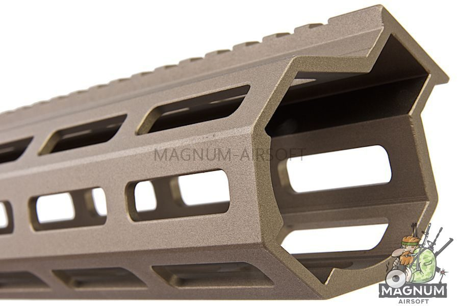 Z-Parts MK16 M-Lok 13.5 inch Rail for Systema PTW M4 Series (w/ Barrel Nut) - DDC