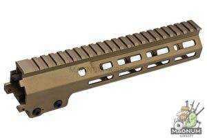 Z-Parts MK16 M-Lok 9.3 inch Rail for Umarex / VFC M4 GBBR Series (w/ Barrel Nut) - DDC