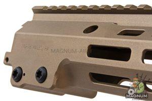 Z-Parts MK16 M-Lok 9.3 inch Rail for Umarex / VFC M4 GBBR Series (w/ Barrel Nut) - DDC