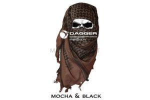 Арафатка Tactical Shemagh Mokko/Black код DAGGER DI-9005