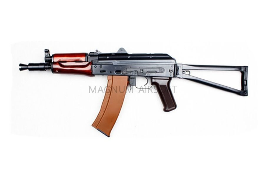 Автомат E&L RKS-74UN AEG Steel and real wood- Platinum EL-A104 (Gen2)